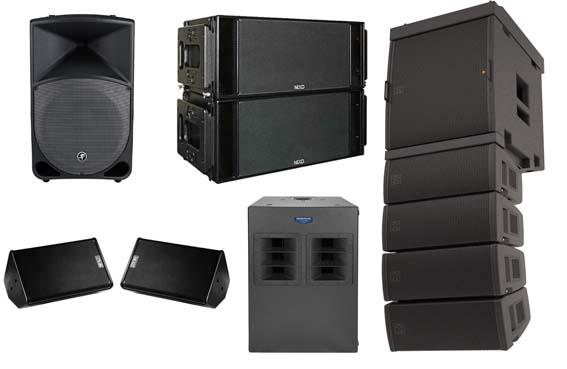 Dj Equipment, PA, AV, Sound System - Projector Rental Phuket-
